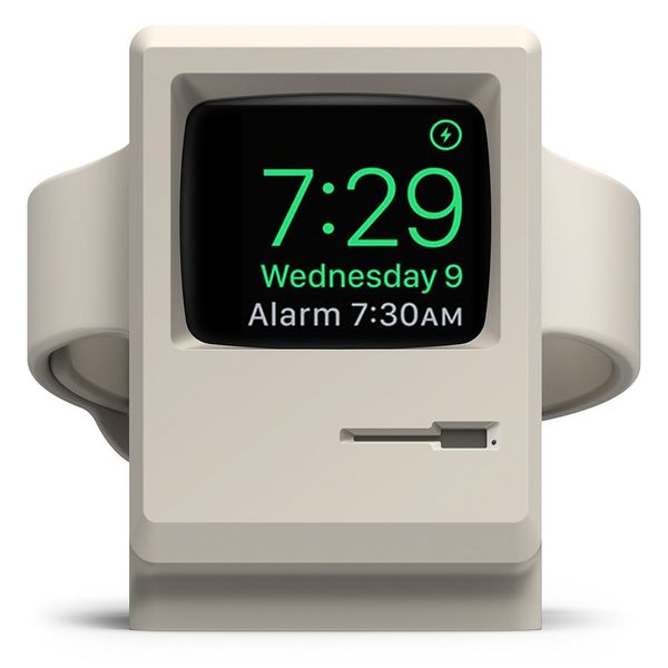 This $15 Apple Watch Stand Is a Squee-Worthy '80s Macintosh