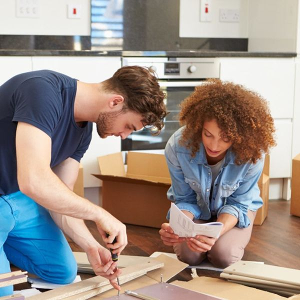 Building IKEA Furniture With Bae Could Spell Disaster for Your Relationship