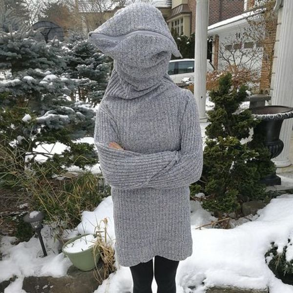 """This WTF """"Leave Me Alone Sweater"""" Is 2017 in a Nutshell"""
