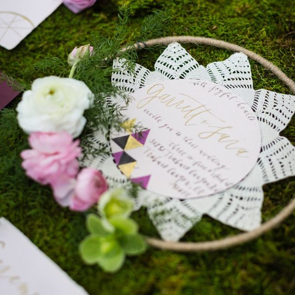 9 Unique Wedding Stationery Ideas That Don't Require Any Paper