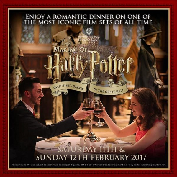 Need Valentine's Plans? Dinner at Hogwarts Great Hall Is Happening Again This Year