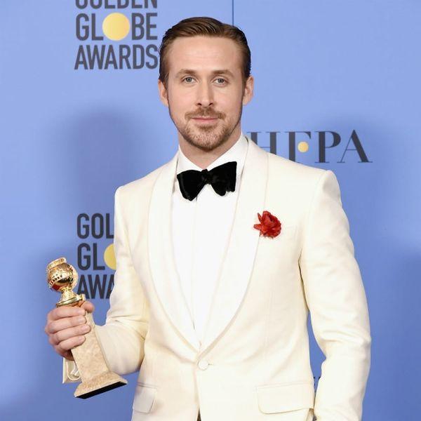 Ryan Gosling's Golden Globes Acceptance Speech Will Make Your Heart Sing