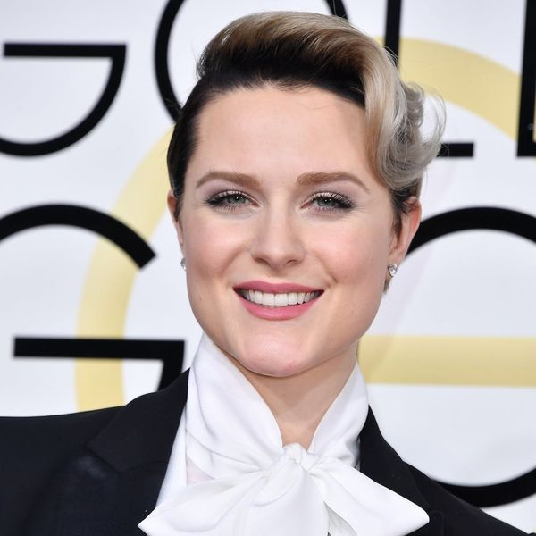 You'll Love Evan Rachel Wood's Reason for Rocking a Tux at the Golden Globes