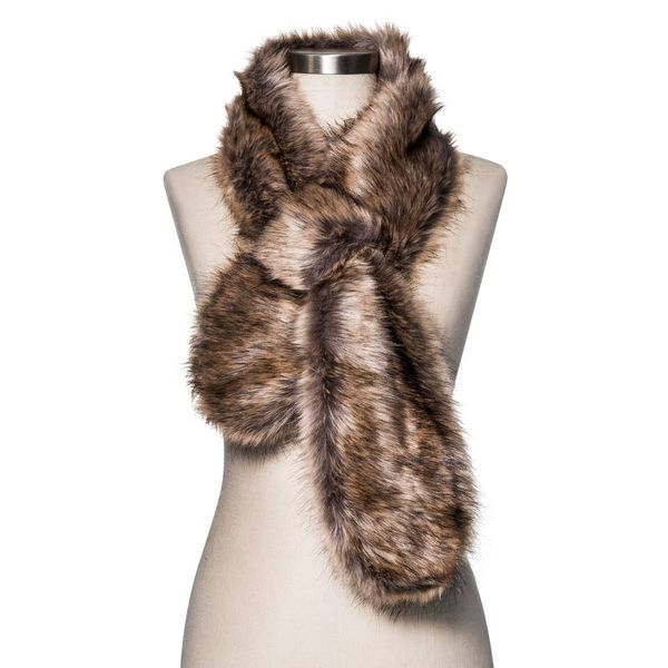 12 Faux Fur Scarves We Can't Wait to Buy