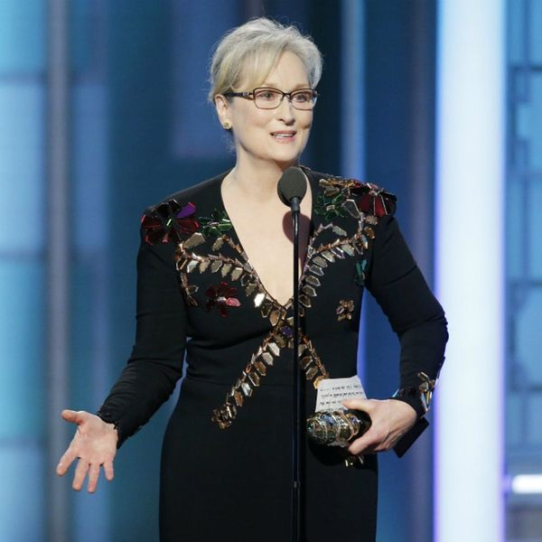 Why Meryl Streep's Golden Globes Speech Is So Important (for Everyone)