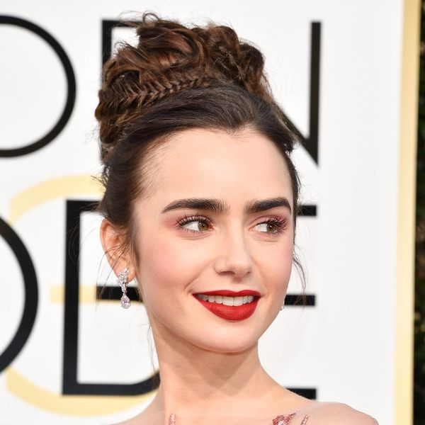 You Can Totally DIY This Casually Glam Golden Globes Hairdo