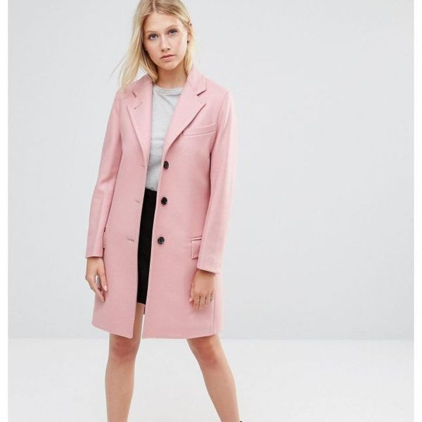 8 Reasons Why We're Crushing on Bubblegum Pink Coats RN