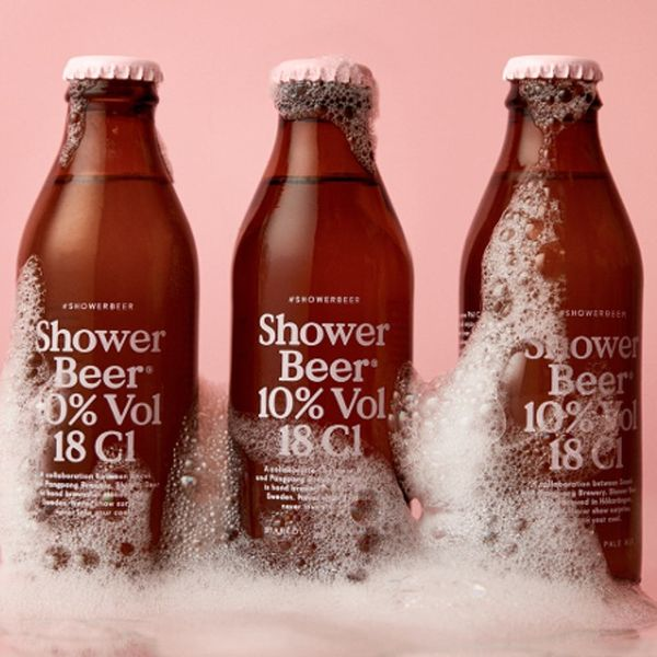 Shower Beer Is Made Specifically for Drinking While Bathing