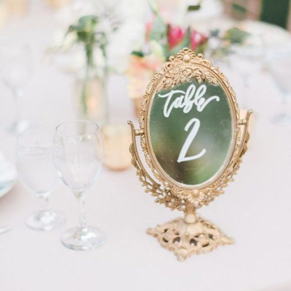 Wedding Trend Alert: 17 Ways to Use Mirror Decor on Your Big Day