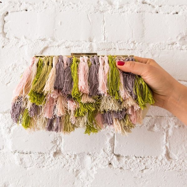 Make This Anthro-Inspired Fringe Purse Without the $228 Price Tag