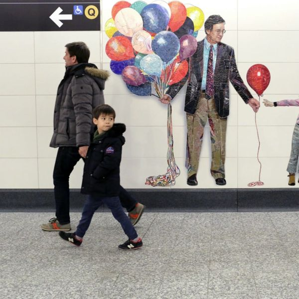 New York's 2nd Ave Subway Art Will Change How You Look at Strangers