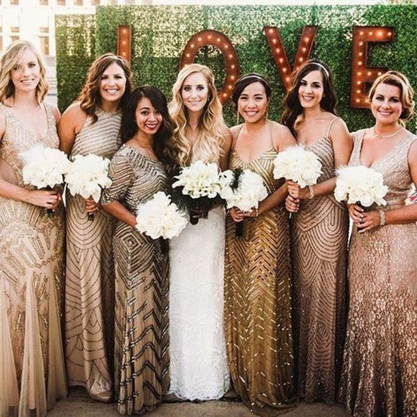 20 Black and Gold Details for a Glam New Year's Eve Wedding