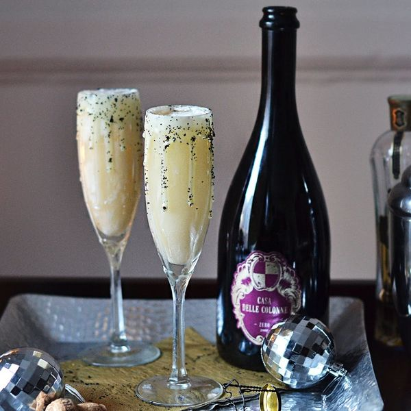 Cheers to the New Year With This Coconut Bubbly Cocktail Recipe