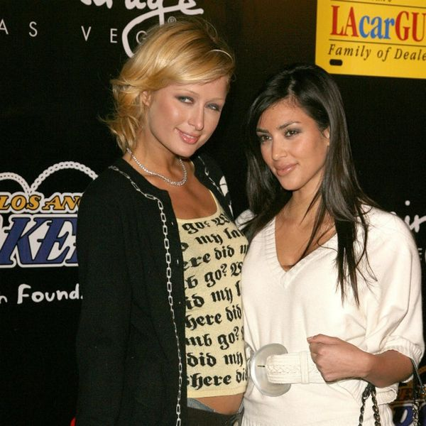 Kim Kardashian and Paris Hilton Reunited at Christmas and the Photo Is Everything