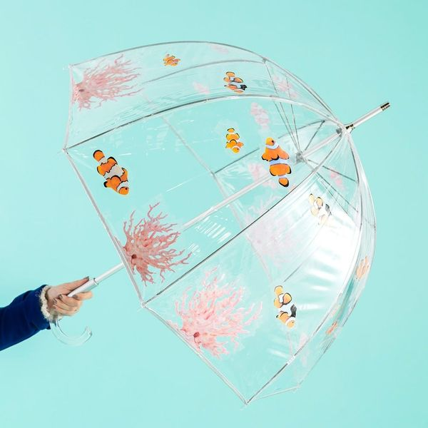 This DIY Aquarium Umbrella Will Make You Wish for Rainy Days