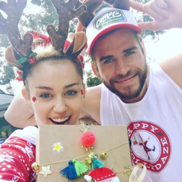 Liam Hemsworth Gave Miley Cyrus an Out-of-This-World DIY Christmas Gift