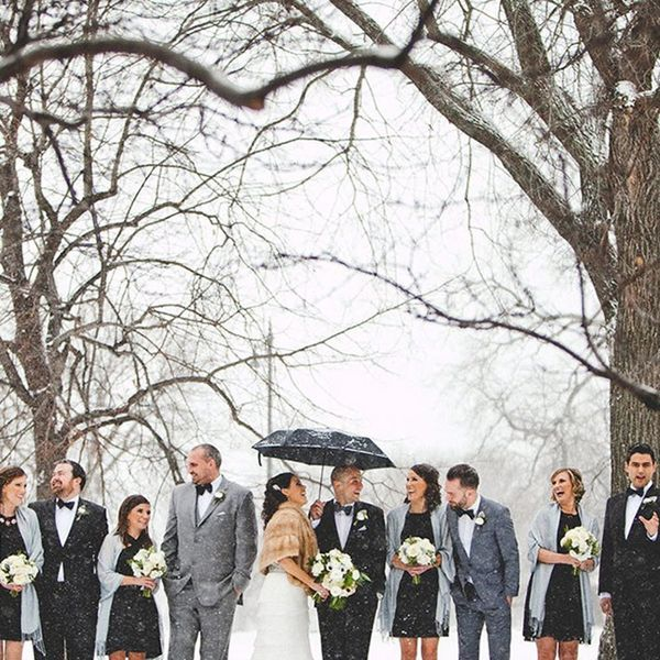 13 Amazing Snowy Photo Ideas for Your Winter Wedding