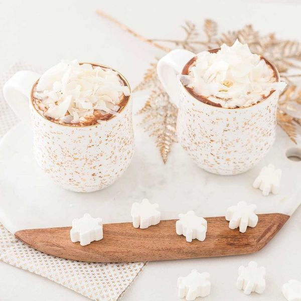 Cozy Up With This Mug of Coconut Milk Hot Cocoa Recipe (Dairy-Free!)