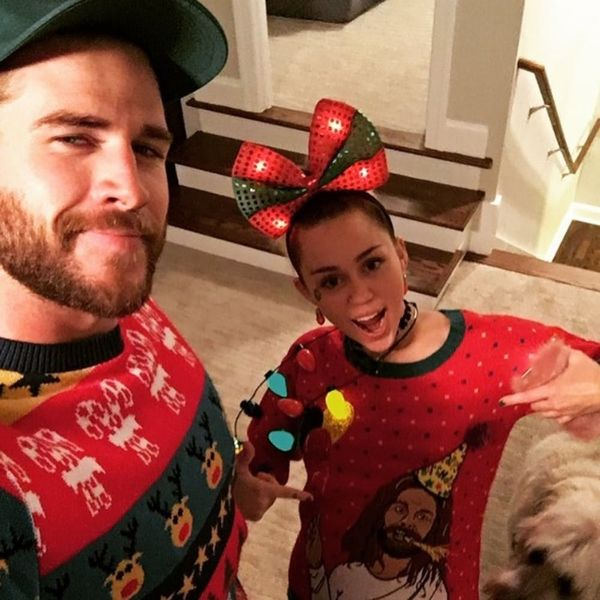 Miley and Liam Are Spending an Adorable Christmas With Chris Hemsworth