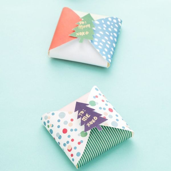 Free  Printable Friday: Last-Minute Foldable Gift Boxes