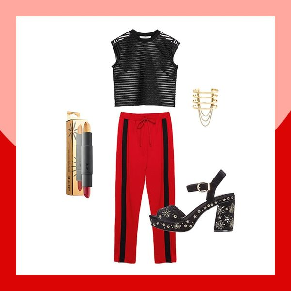 4 Non-Cliché Ways to Rock Red and Green ('Cause You're Cool Like That)