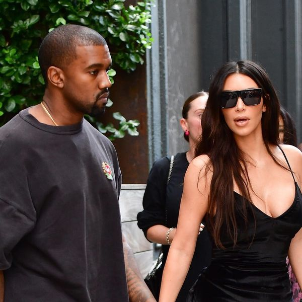 Kim Kardashian Steps Out Without Her Engagement Ring