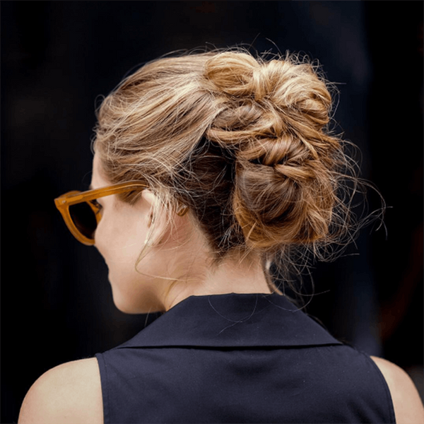 8 Updos for Curly-Haired Babes to Rock This Holiday Season