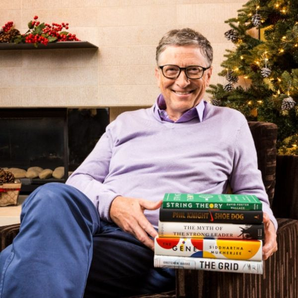 Bill Gates' Top 2016 Reads Cover Everything from Shoes to Leadership