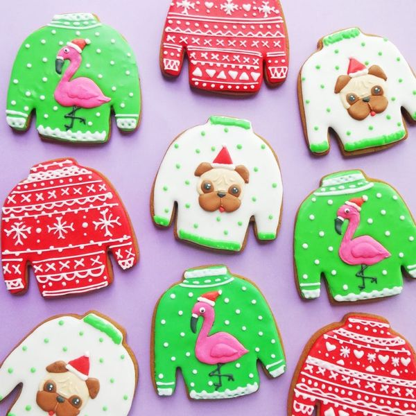 This Pugly Gingerbread Sweaters Cookie Recipe Will Brighten Up Your Festivities!