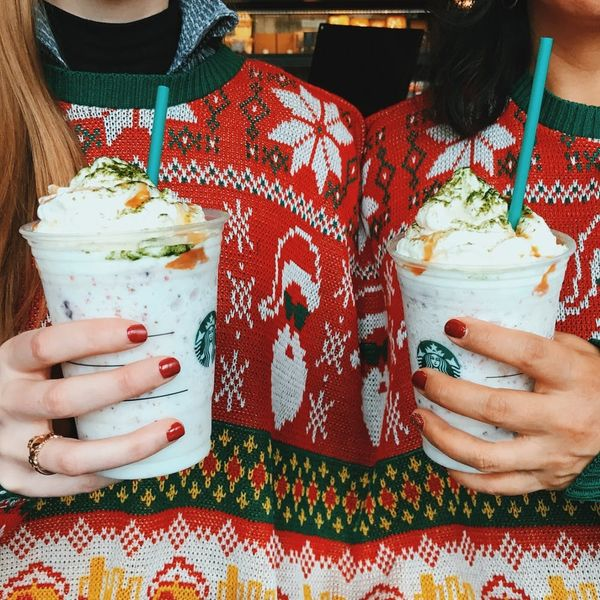 Starbucks Has Introduced a Fruitcake Frappuccino