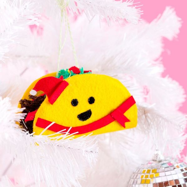 These Taco Ornaments Are Our Newest Holiday Obsession