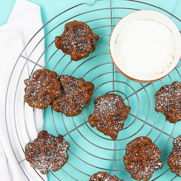 Get Festive AF With Healthy Santa Boot Print Cookies