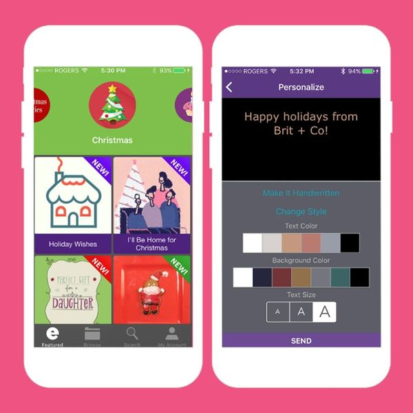 9 Christmas Card Apps That Will Spare You a Hand Cramp