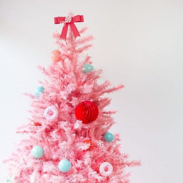 12 Colorful Christmas Trees That Go Way Beyond Red + Green