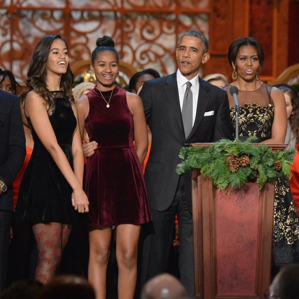 The Obamas' Final White House Christmas Card Will Make You Weepy AF