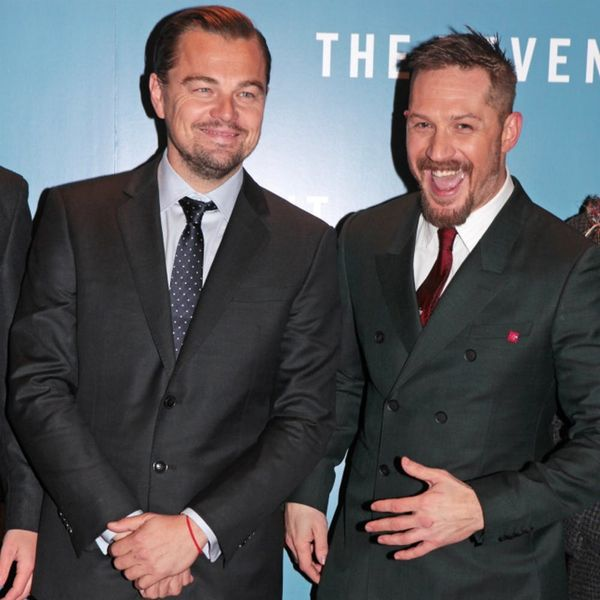 Tom Hardy Is Getting a Tattoo from Leonardo DiCaprio