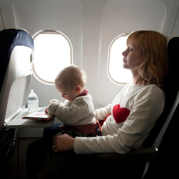 Here's the Deal With Baby-Free Zones on Airplanes
