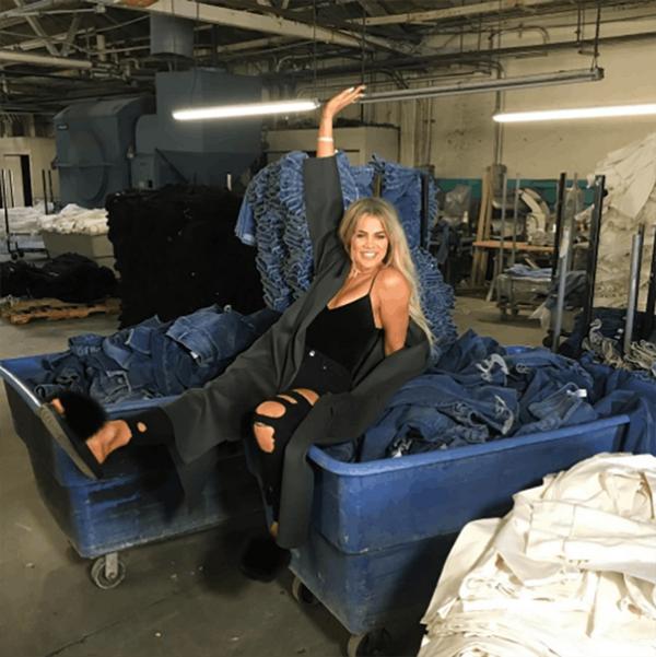 Khloe Kardashian's New Denim Line Sold $1 Million Worth of Jeans in One Day