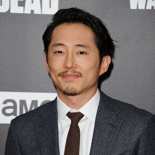 The Walking Dead's Newly Married Steven Yeun Is Going to Be a Dad