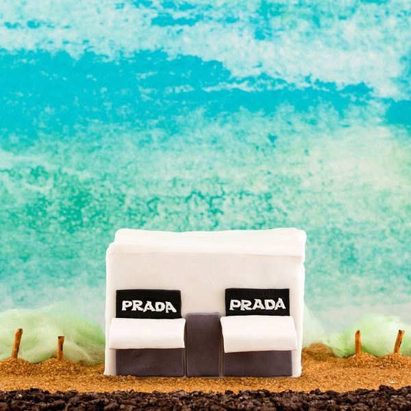This Marfa Prada Gingerbread House Will Give You All the Hipster Feels
