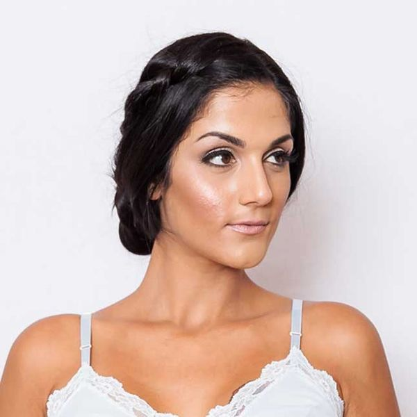 Take This Wedding Hairstyle from Down-'Do to Updo in Seconds
