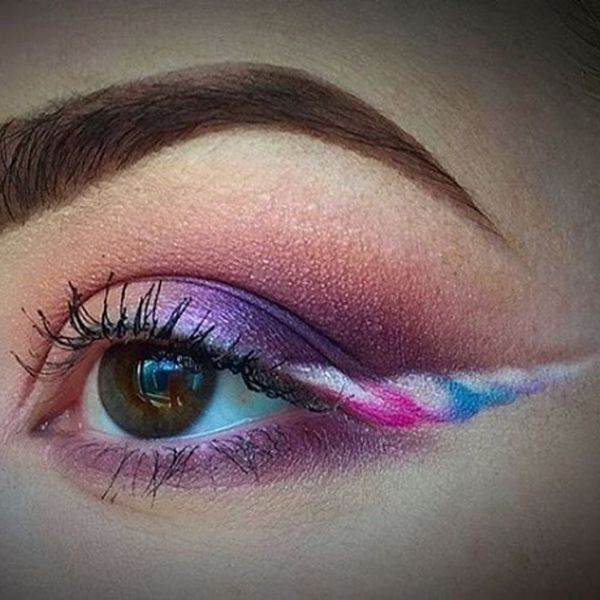 #UnicornLiner Is the Whimsical New Trend You'll Absolutely Adore
