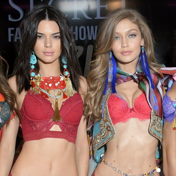 Kendall Jenner, Bella and Gigi Hadid Got Wings for the VS Fashion Show and People Are NOT Happy