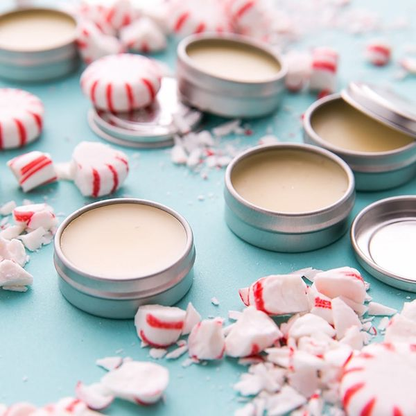 Whip Up This Deliciously Simple DIY Peppermint Lip Balm