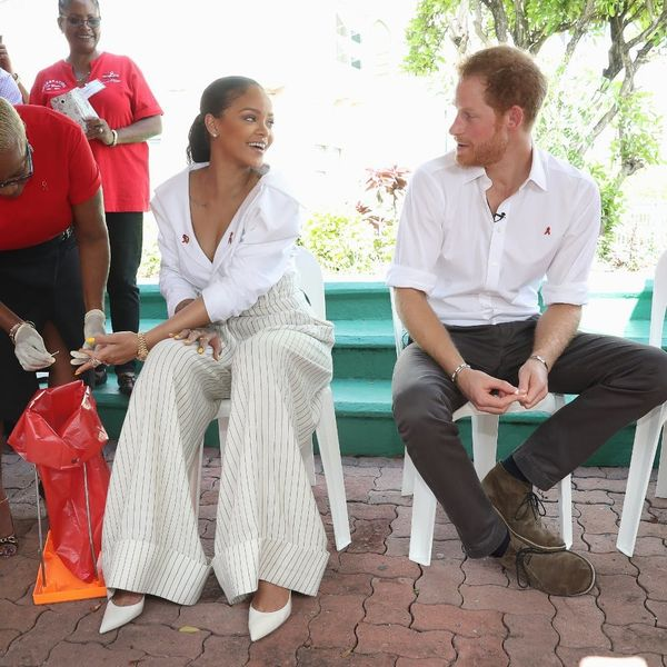 Prince Harry and Rihanna Taking HIV Tests Together on #WorldAIDSDay Will Make You Love 'em BOTH Even More