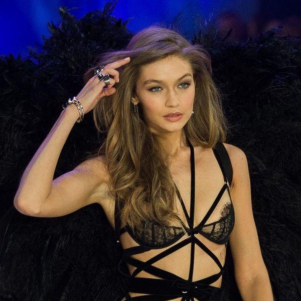 Gigi Hadid Suffered a Wardrobe Malfunction During the Victoria's Secret Fashion Show
