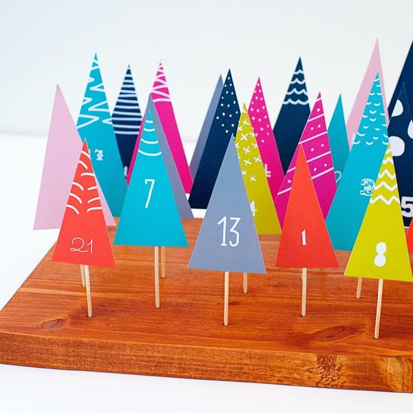 25 DIY Advent Calendars That Double As Holiday Decor