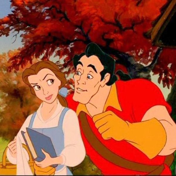 Belle and Gaston Face Off in This Fairytale-Like New Pic from Disney's Live-Action Beauty and the Beast