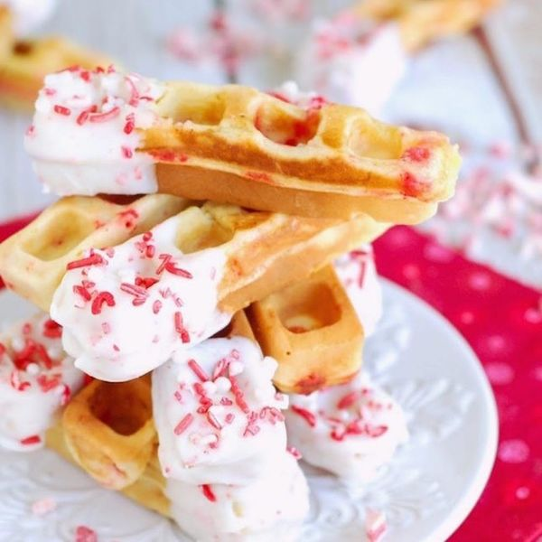 14 Insanely Delicious and Festive Waffle Recipes to Make on Christmas Morning