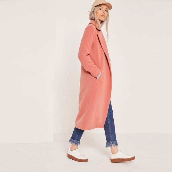 These 18 Longline Coats Are It Girl Approved